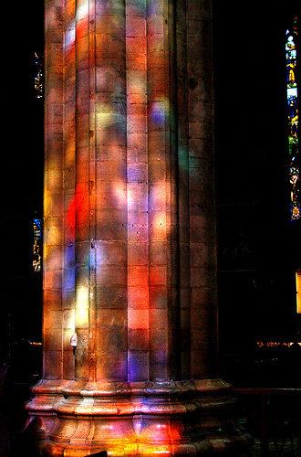Duomo Colonne e Luce