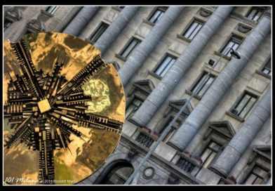 44. Be dazzled by Arnaldo Pomodoro's Sun (and remember that once it turned around)