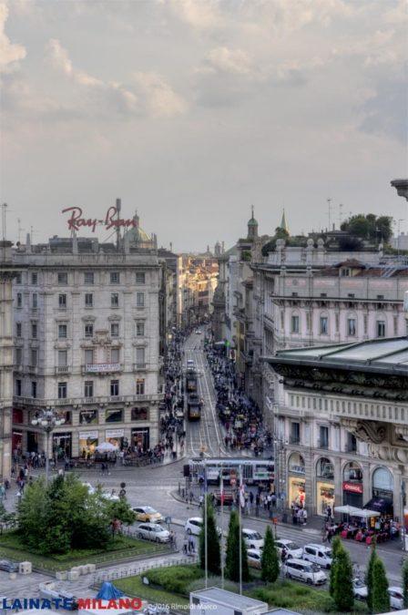 Via Torino da Highline Galleria