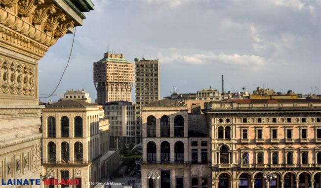 Torre Velasca Arengario da Highline Galleria
