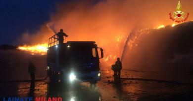 Incendio ex-Rotamfer: si indaga per incendio doloso
