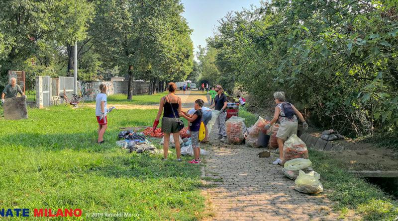 Giornata Verde a Barbaiana: 300 kg di spazzatura in 300 metri di ciclabile