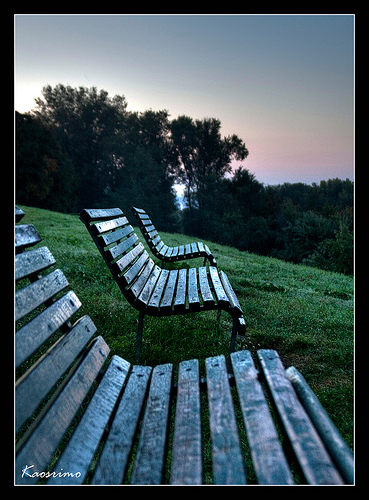 Sunrise Bench