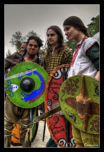 Modern Celtic Warriors