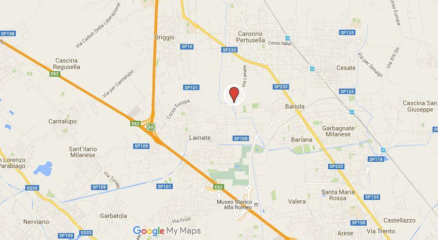 Cascina Panigadi è Collocata a nord del territorio di Lainate al confine con il Comune di Caronno Pertusella