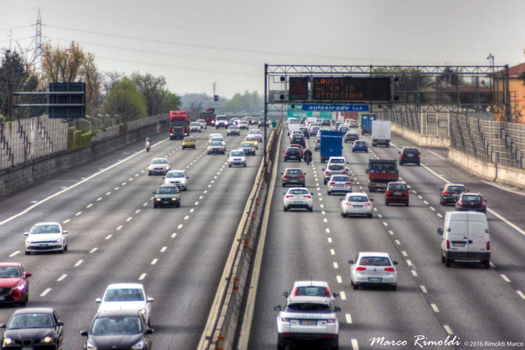 Autostrada A8 a Lainate
