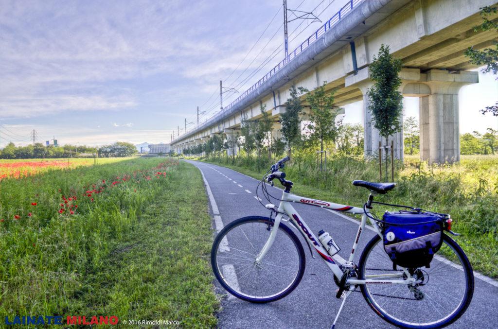 Bicicletta Ciclabile Cerchiate