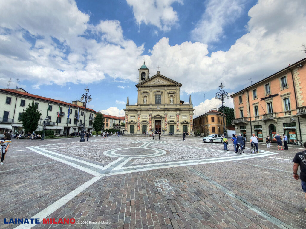 La piazza di Saronno