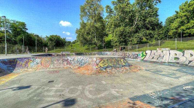 24. Lasciarsi insegnare la vita dalla pista di skateboard del Parco Lambro